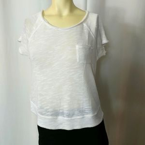 WE THE FREE Distressed Top